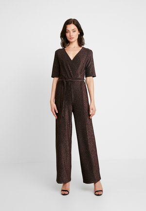 Jumpsuit - black/copper