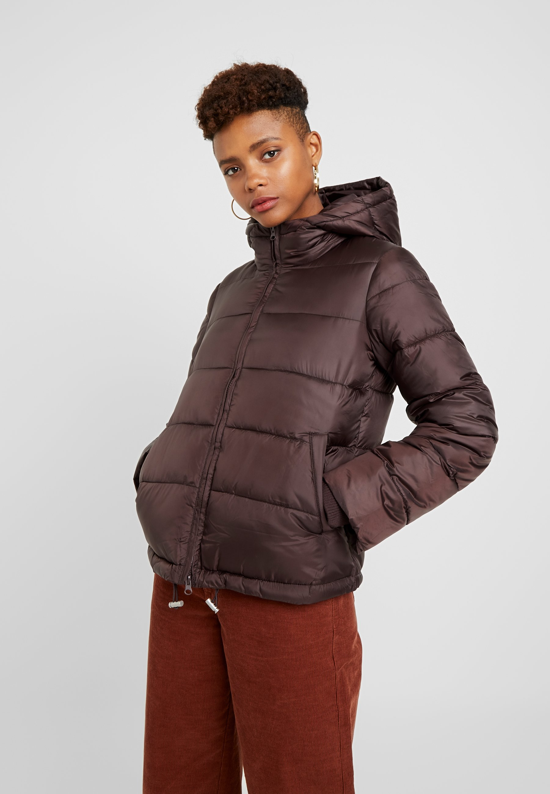 Pieces JacketVeste saison Chocolate Plum Padded Mi Pceve Short QtsxdrhC