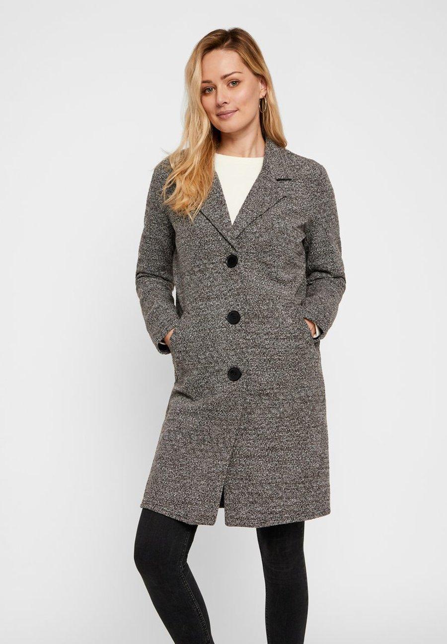 Pieces Classic Coat - Black
