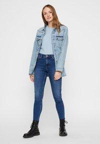 Pieces - Veste en jean - light blue denim - 1