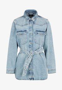 Pieces - Veste en jean - light blue denim - 5
