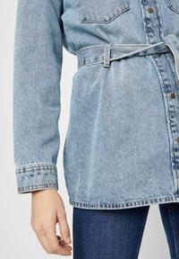 Pieces - Veste en jean - light blue denim - 4