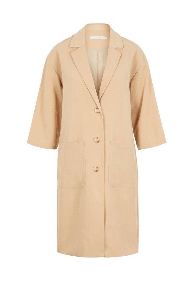 Płaszcz wełniany /Płaszcz klasyczny - Light Gray