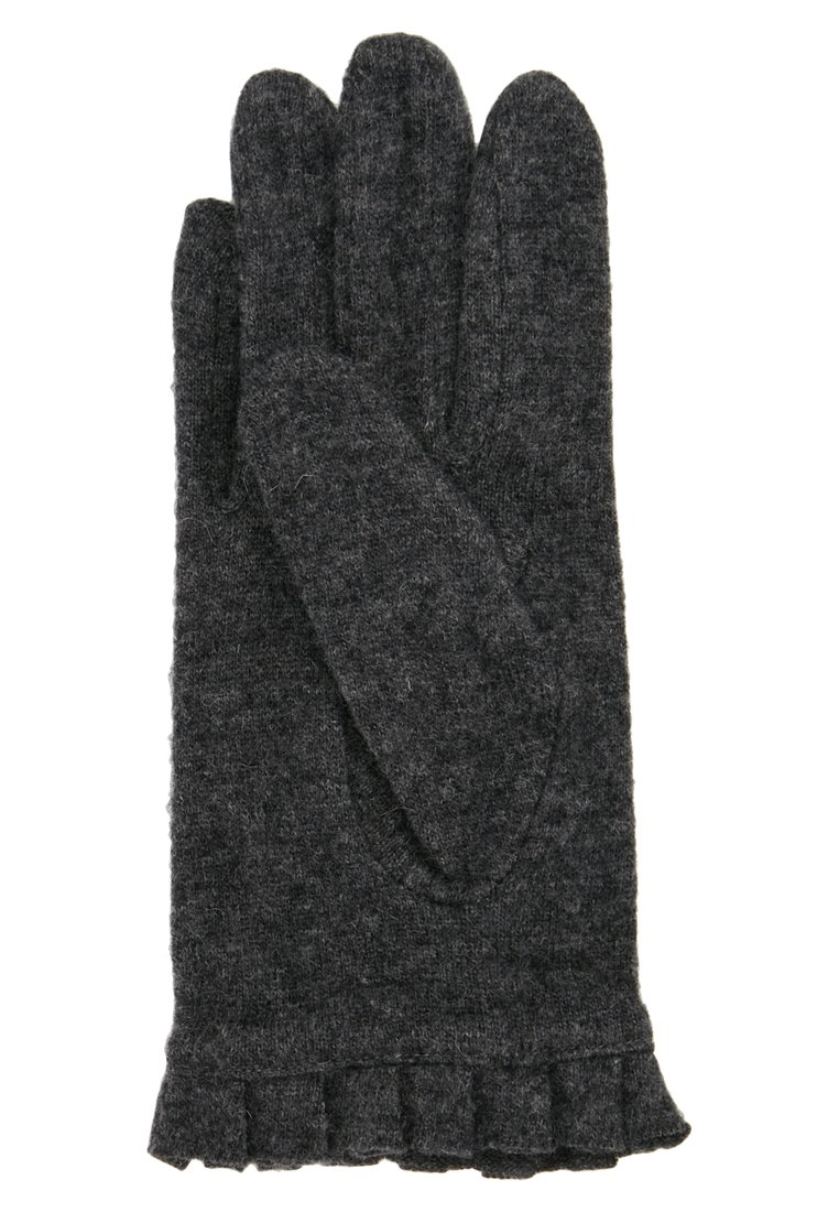 Glove Dark Melange Pieces Grey BoxGants Pcfulva Wool L54jA3R