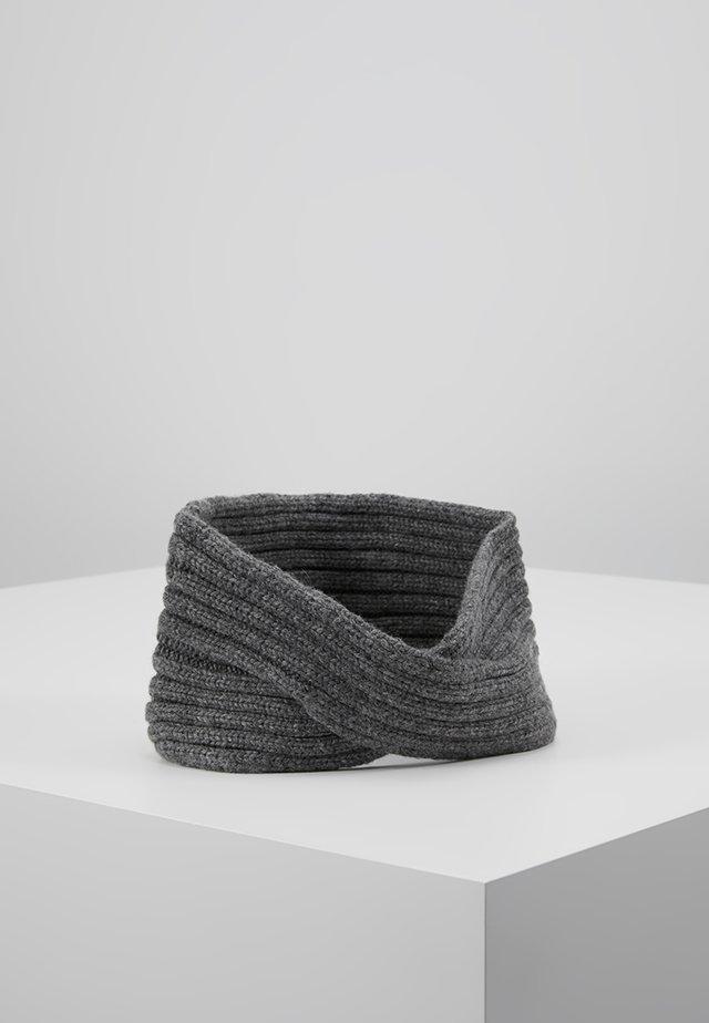 Čelenka - dark grey melange