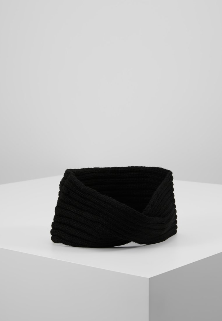 Pieces - PCVIRTULA TWISTED HEADBAND - Orejeras - black