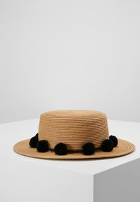 Pieces - PCISA  HAT BEACH - Klobouk - black - 0