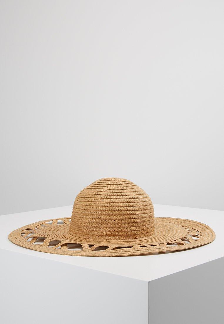 Pieces - PCBEA STRAW  - Hattu - beige