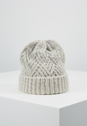 Mütze - light grey melange