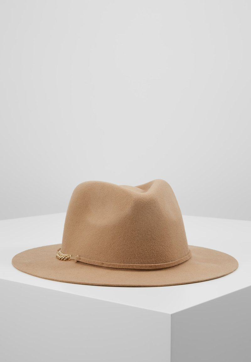 Pieces - Sombrero - toasted coconut/gold-coloured