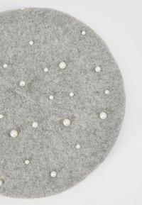Pieces - Hatt - light grey melange - 4