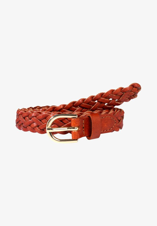 AVERY - Belt - cognac