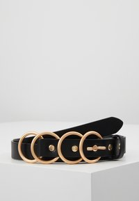 Pieces - Riem - black/gold - 0