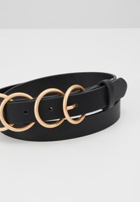 Pieces - Riem - black/gold - 4