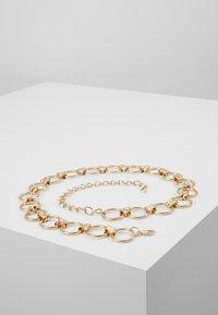 Pieces - PCNURA WAIST BELT - Waist belt - gold-coloured - 0