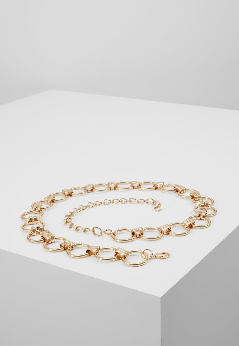 Pieces - PCNURA WAIST BELT - Waist belt - gold-coloured