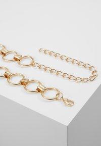Pieces - PCNURA WAIST BELT - Waist belt - gold-coloured - 2
