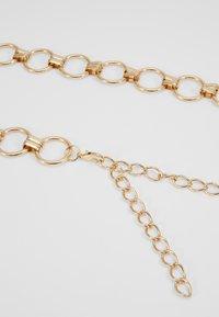 Pieces - PCNURA WAIST BELT - Waist belt - gold-coloured - 4