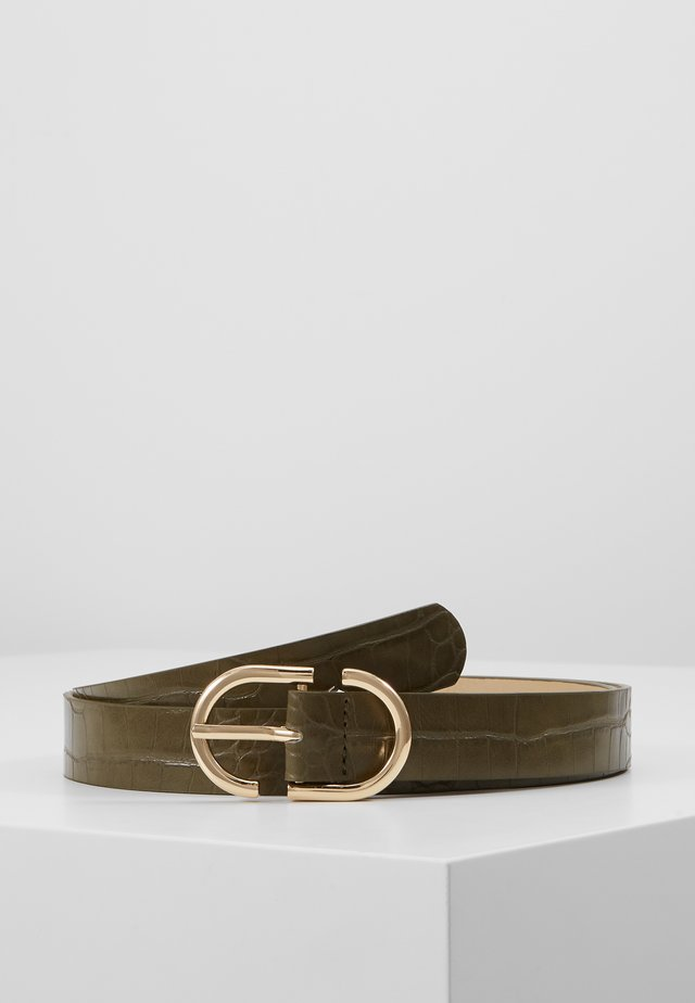 PCNADINA JEANS BELT - Riem - olive night