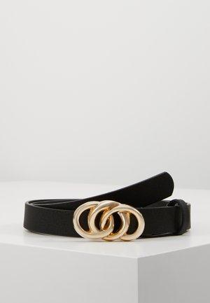 PCALVA BELT - Cinturón - black