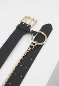 Pieces - PCPERNILLE WAIST BELT - Midjebelte - black/gold-coloured - 3