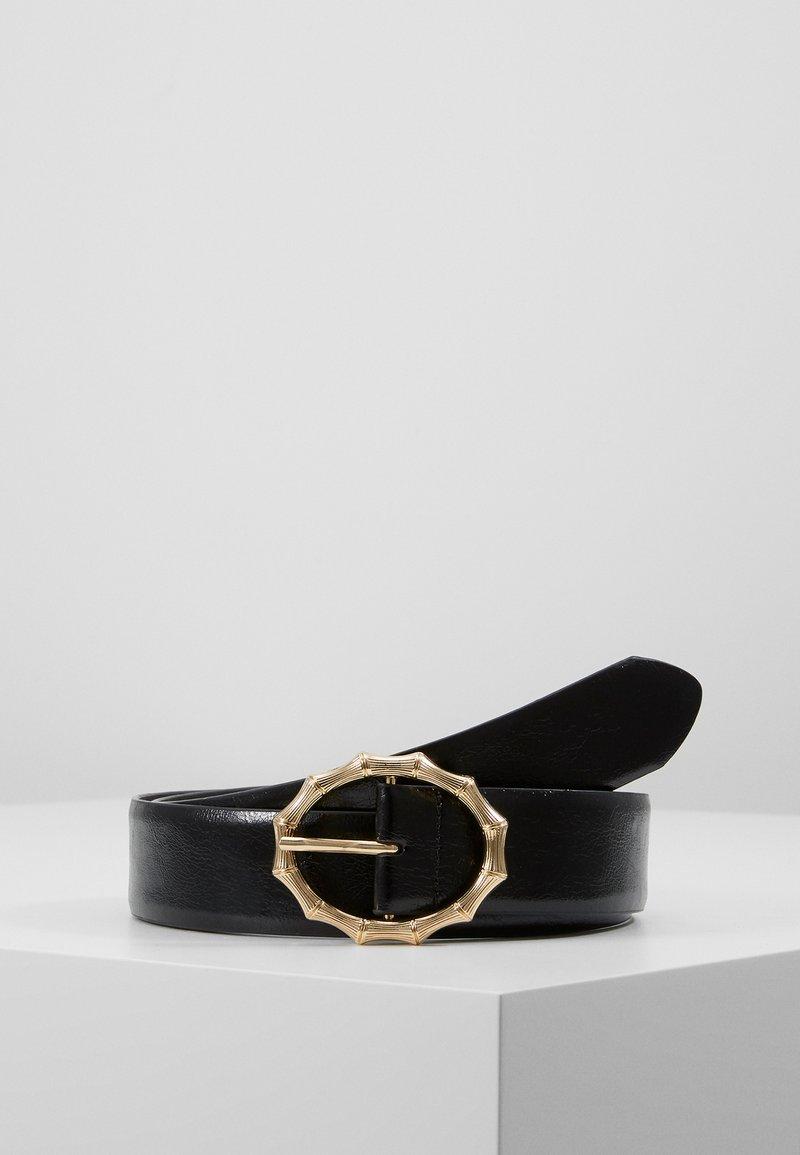 Pieces - PCBAMBI JEANS BELT - Belt - black/gold-coloured