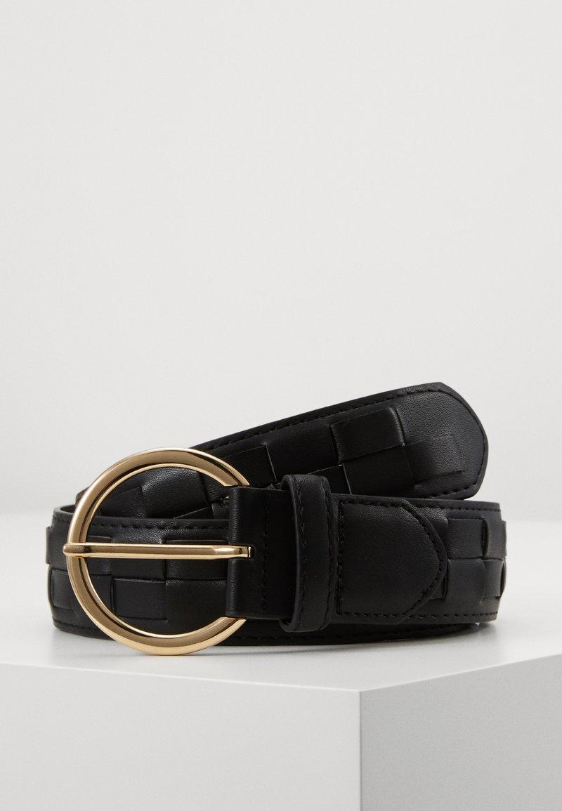 Pieces - PCJYDA WAIST BELT KEY - Midjebelte - black/gold-coloured