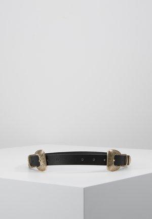 PCJURAH WAIST BELT KEY - Pasek - black/gold-coloured