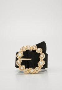 Pieces - PCSOFIA WAIST BELT - Tailleriem - black/gold-coloured - 0