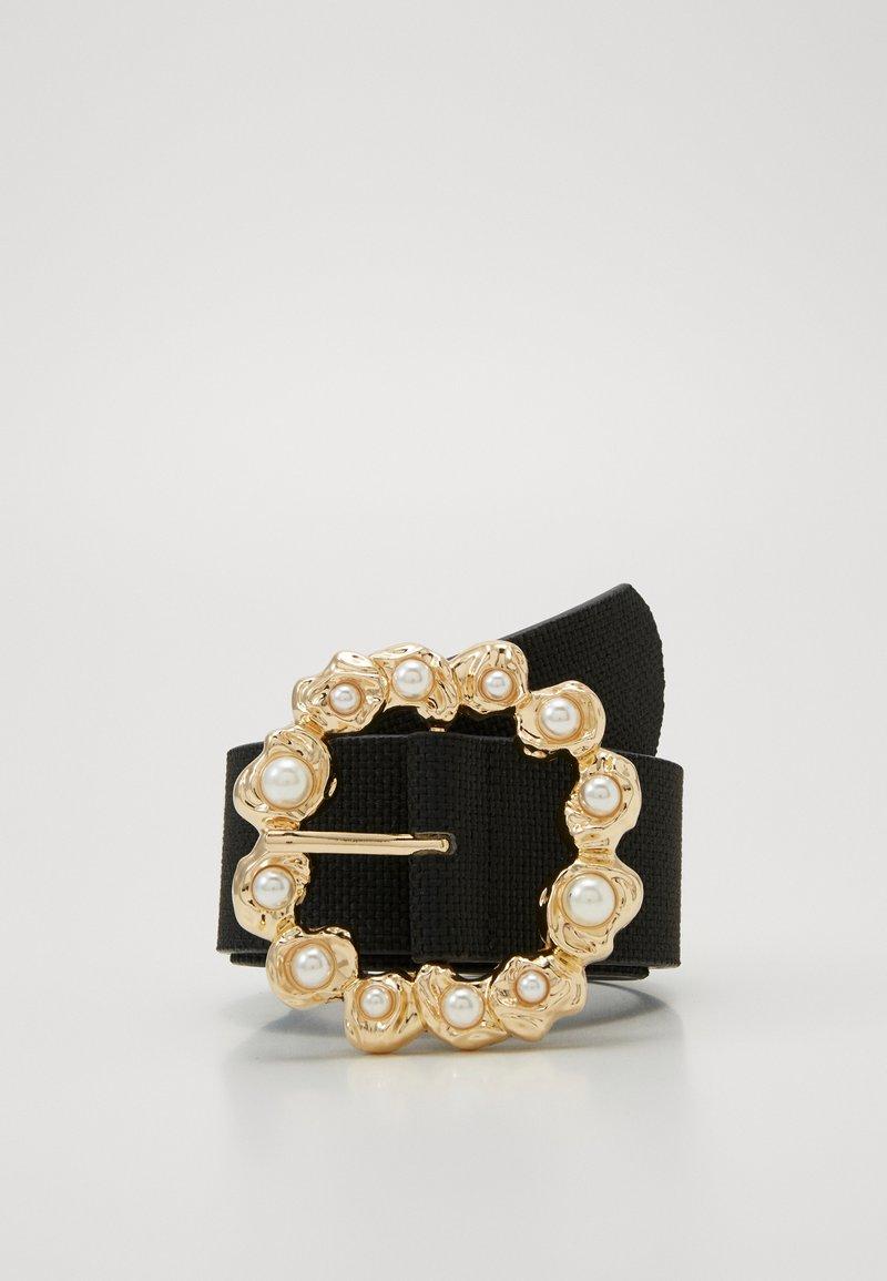 Pieces - PCSOFIA WAIST BELT - Tailleriem - black/gold-coloured
