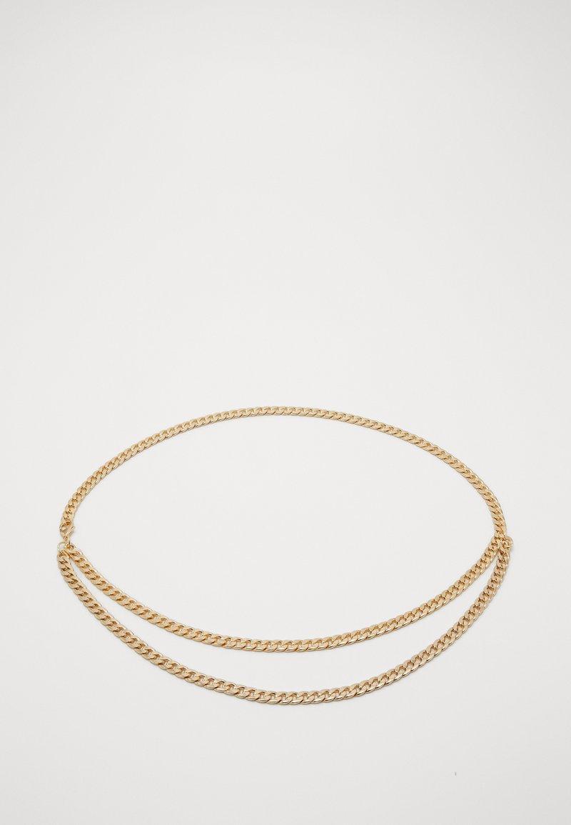 Pieces - PCPANZI WAIST CHAIN BELT KEY - Waist belt - gold-coloured