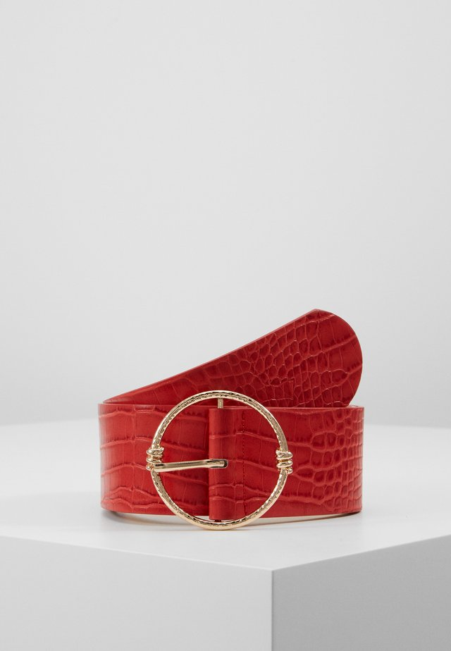 PCGLASSY WAIST BELT - Pásek - high risk red