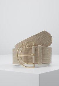 Pieces - PCBENEDICTE WAIST BELT - Pásek - beige/gold-coloured - 0
