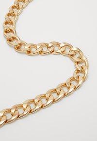 Pieces - PCHOLLINA WAIST CHAIN BELT KEY - Waist belt - gold-coloured - 2