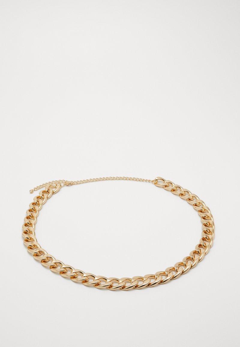 Pieces - PCHOLLINA WAIST CHAIN BELT KEY - Midjebelte - gold-coloured