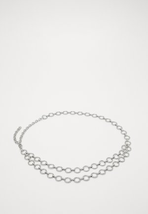 PCNORA WAIST CHAIN BELT KEY - Tailleriem - silver-coloured