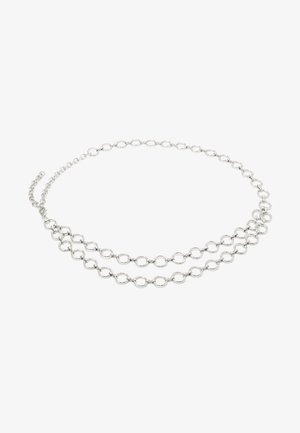 PCNORA WAIST CHAIN BELT KEY - Tailleriem - silver-coloured