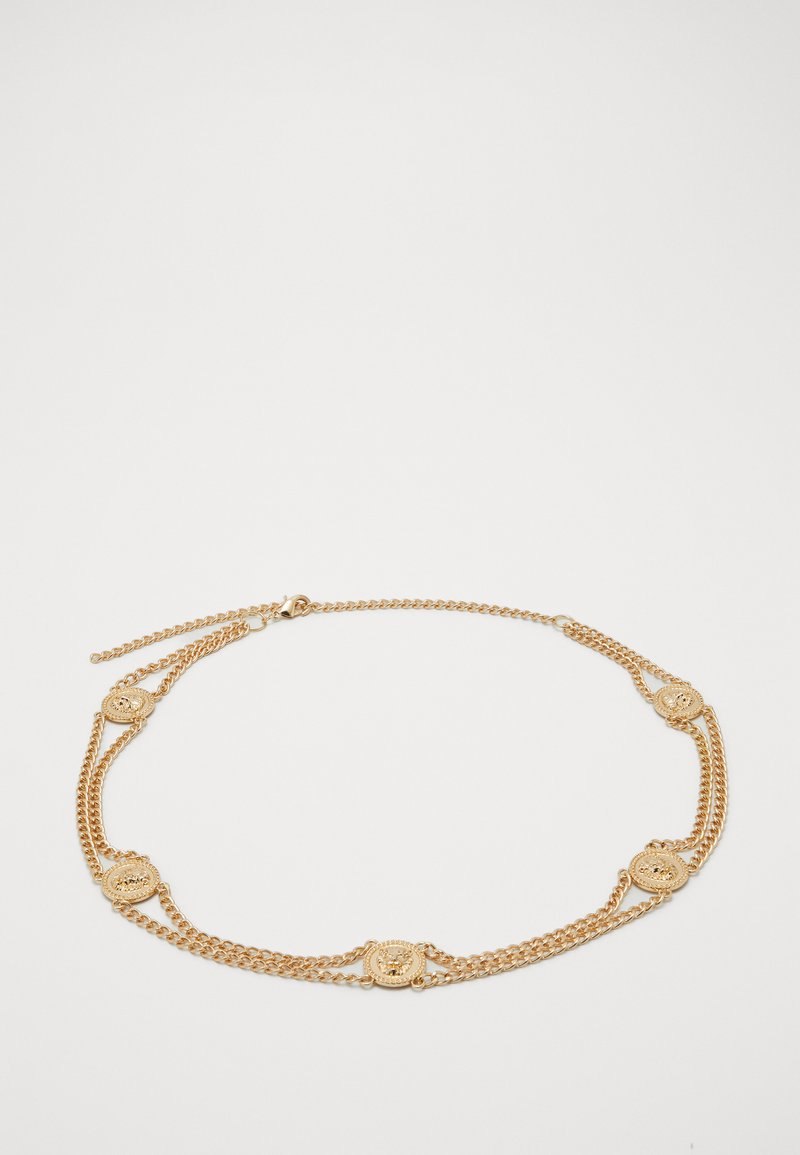 Pieces - PCLIONA WAIST CHAIN BELT KEY - Midjebelte - gold-coloured