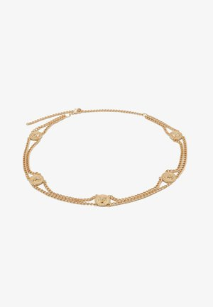 PCLIONA WAIST CHAIN BELT KEY - Pásek - gold-coloured