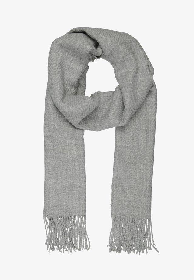 Szal - light grey melange