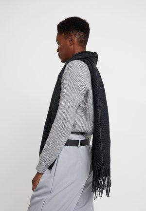 Écharpe - dark grey melange