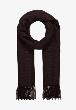 Scarf - chocolate plum