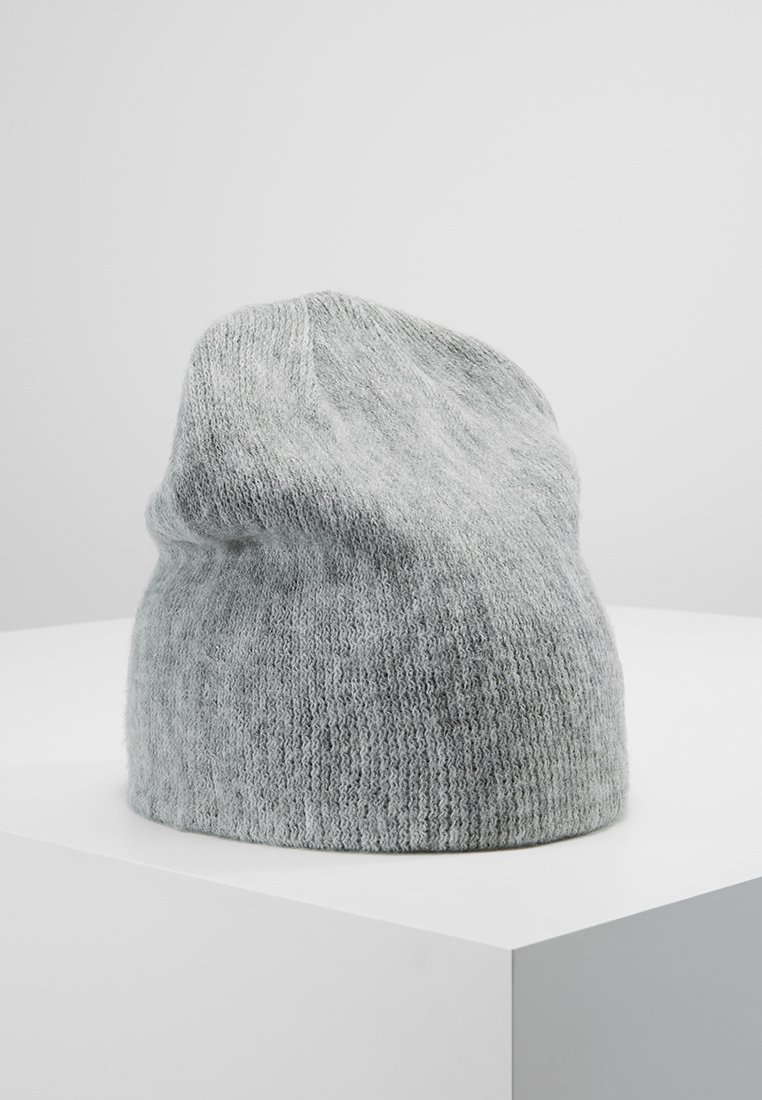 Pieces - PCKALUA HOOD - Bonnet - light grey melange