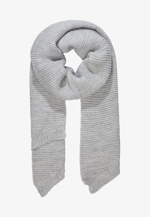Sjal - light grey melange