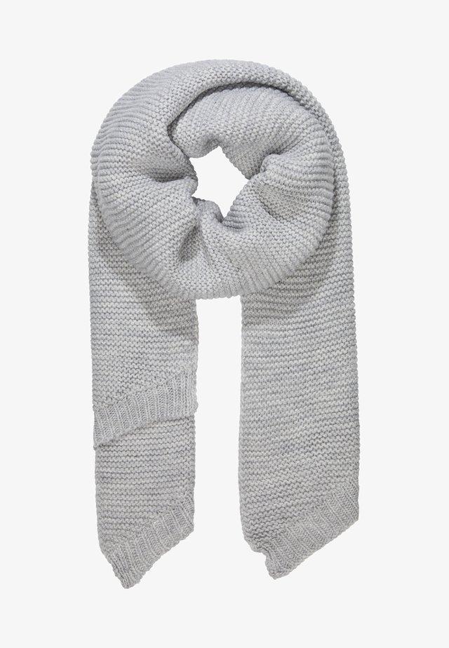 Šála - light grey melange
