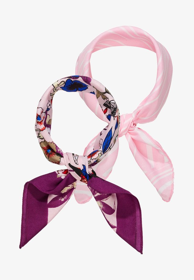 PCJESSICA SQUARE SCARF  2 PACK - Tuch - candy pink