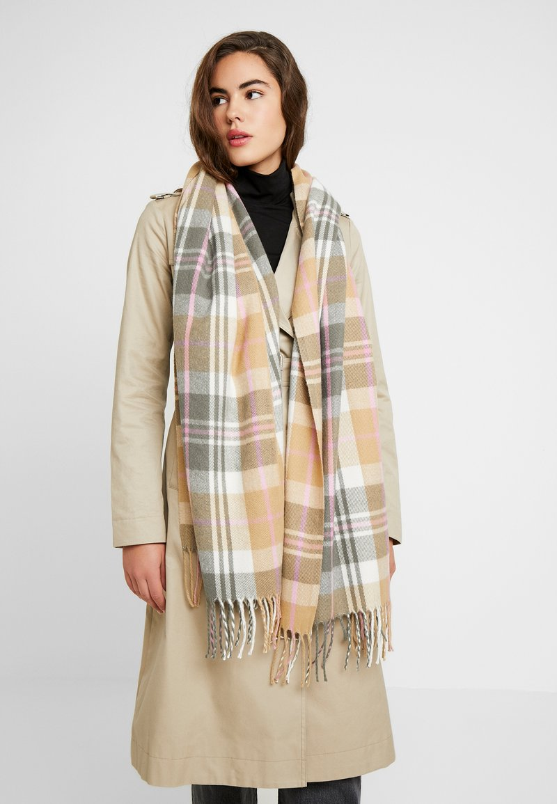 Pieces - PCHARRIET LONG SCARF - Scarf - tannin