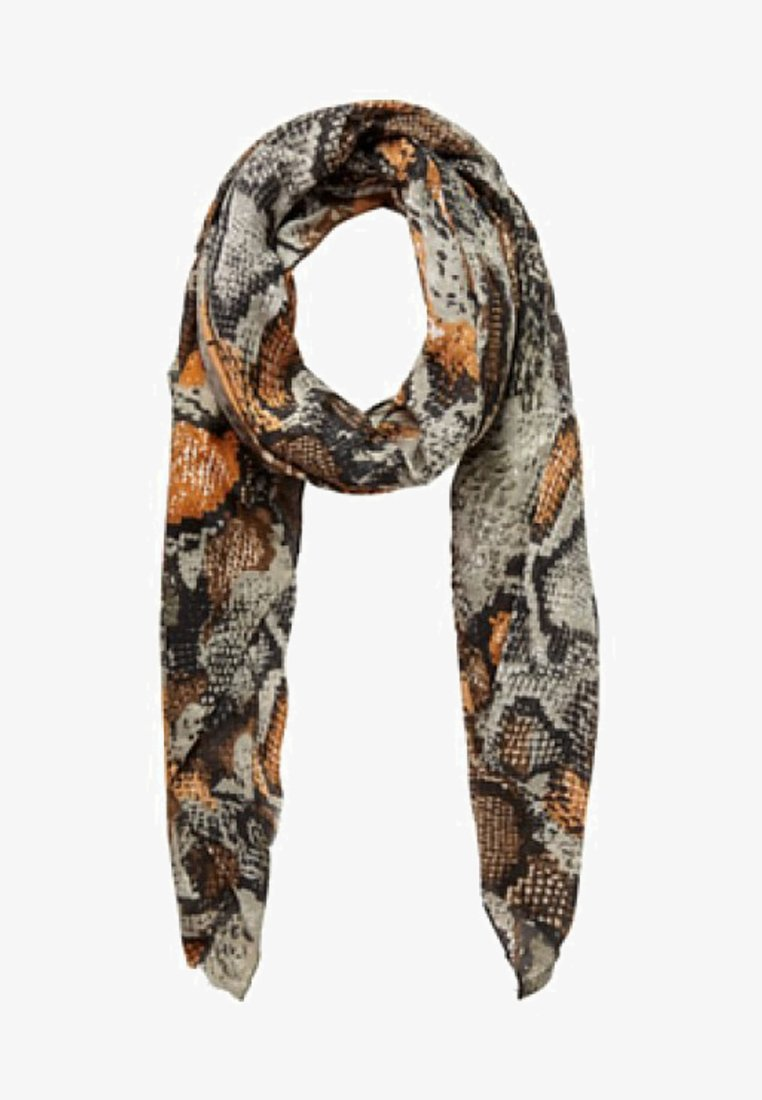 Pieces - Scarf - leather brown