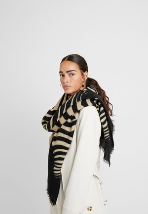 PCHELIN SQUARE SCARF - Scarf - black