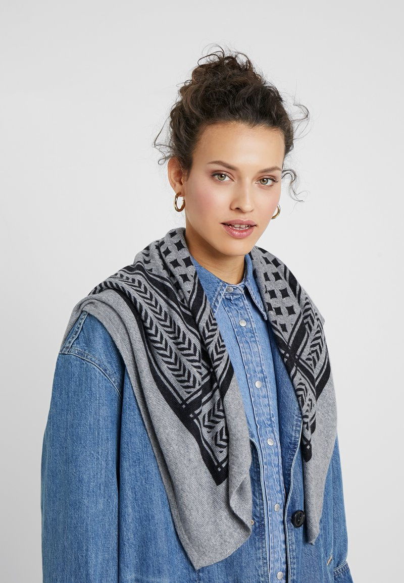 Pieces - Scarf - light grey melange
